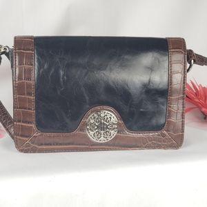 Giani Bernini crossbody leather purse